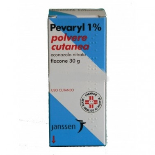 JANSSEN CILAG SpA - PEVARYL*POLV CUT 30G 1%