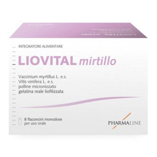 PHARMA LINE Srl - LIOVITAL MIRTILLO 8FL DA 10ML