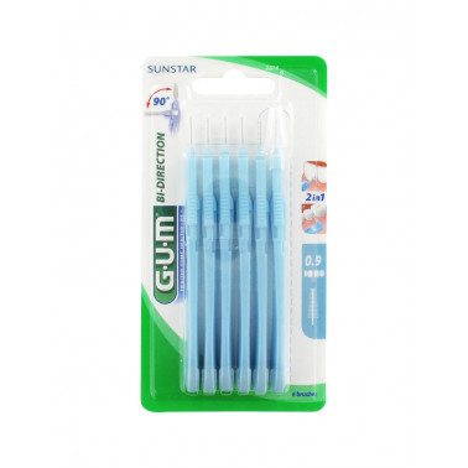 BUTLER/GUM - GUM BI-DIRECTION 2314 SCOVOLINO 0.9MM 6PZ