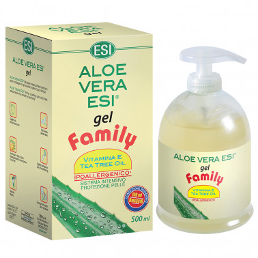 ESI SpA - ALOE VERA ESI GEL FAMILY 500ML