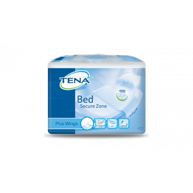 SCA HYGIENE PRODUCTS SpA - TENA BED SECURE ZONE PLUS WINGS 80X180CM 20PZ