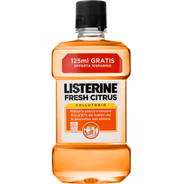 LISTERINE - LISTERINE FRESH CITRUS 500ML