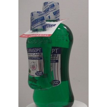 CURADEN HEALTHCARE SpA - CURASEPT DAYCARE COLLUTORIO MENTA FORTE 500ML+100ML OMAGGIO