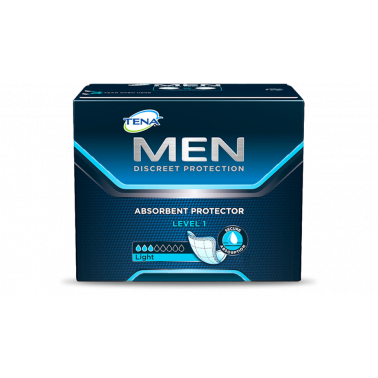 SCA HYGIENE PRODUCTS SpA - TENA MEN DISCREET PROTECTION LIVELLO 1 LIGHT 24PZ
