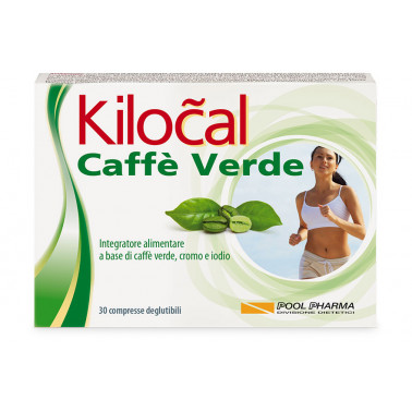 POOL PHARMA Srl - KILOCAL CAFFE' VERDE 30CPR