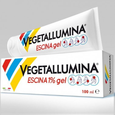 PIETRASANTA PHARMA SpA - VEGETALLUMINA ESCINA1% GEL 100ML