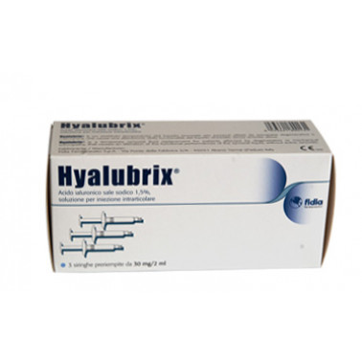 FIDIA FARMACEUTICI SpA - Fidia Hyalubrix 3 siringhe preriempite da 30 mg/2 ml
