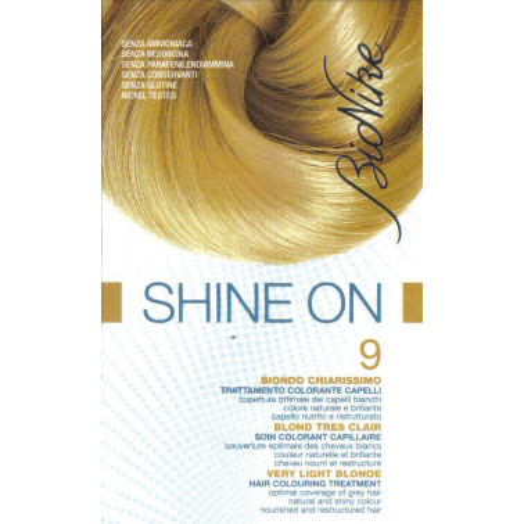 BIONIKE - BIONIKE SHINE ON CAPELLI 9 BIONDO CHIARISSIMO