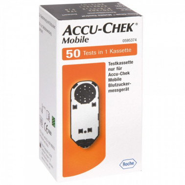 ROCHE DIAGNOSTICS SpA - ACCU-CHEK MOBILE 50test