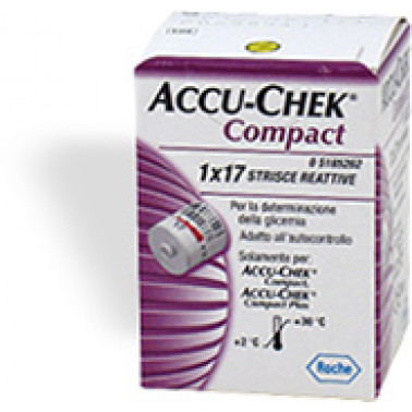 ROCHE DIAGNOSTICS SpA - ACCU-CHEK COMPACT 1X17Str
