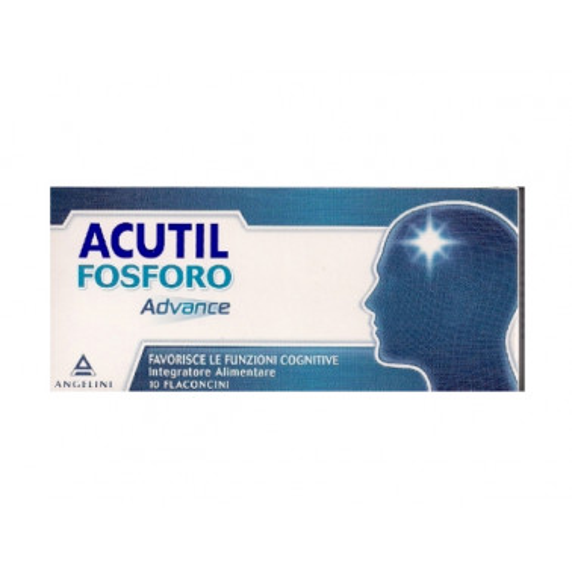 ANGELINI SpA - ACUTIL Fosforo Advance 10 flaconcini