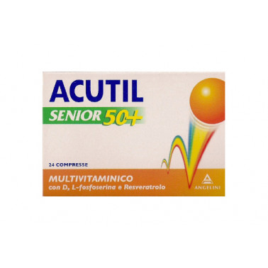 ANGELINI SpA - ACUTIL Multivitaminico Senior 50+ 24 compresse