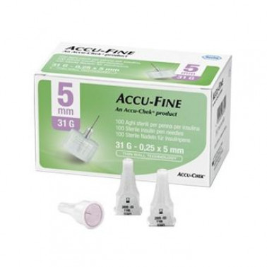 ROCHE DIAGNOSTICS SpA - AGO ACCU-FINE G31 5MM 100PZ