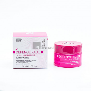 BIONIKE - BIONIKE DEFENCE Xage Ultimate Crema Filler Notte Repair 50ml