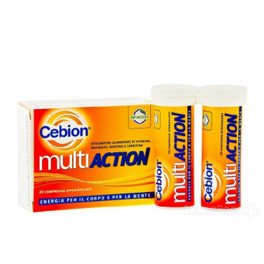 BRACCO SpA DIV.FARMACEUTICA - CEBION Multiaction Effervescente 20cpr