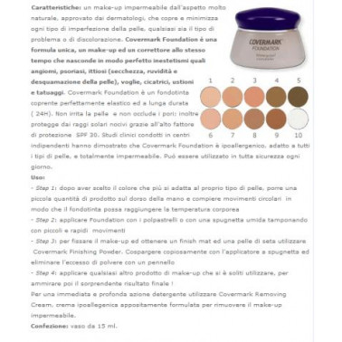 COVERMARK COSMETICS - COVERMARK Foundation 1