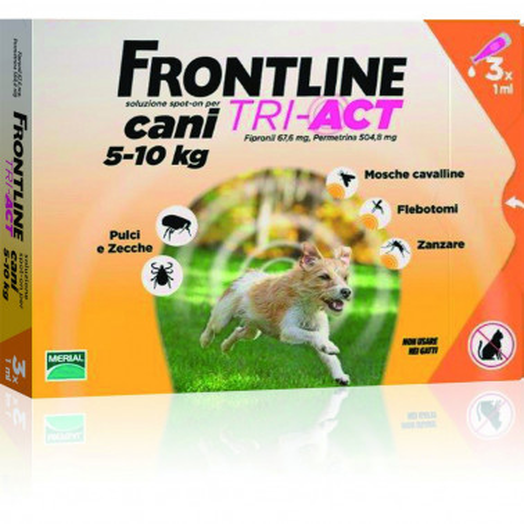 MERIAL ITALIA SpA - FRONTLINE TRI-ACT CANI 5-10 KG