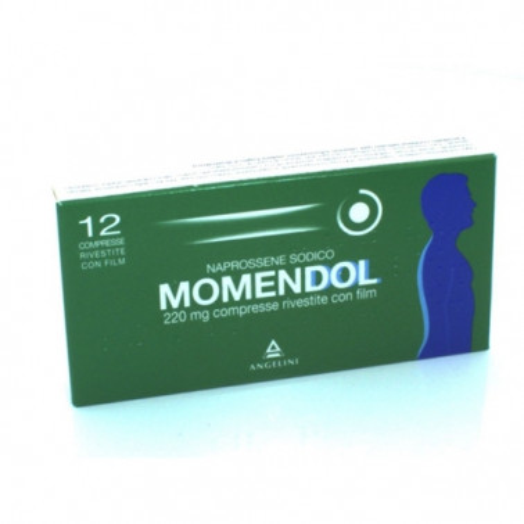 ANGELINI SpA - MOMENDOL*12CPR RIV 220MG