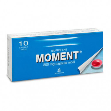 ANGELINI SpA - MOMENT*10CPS MOLLI 200MG