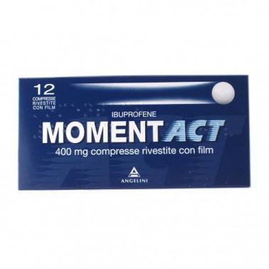 ANGELINI SpA - MOMENTACT*12CPR RIV 400MG