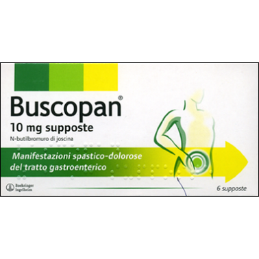 BOEHRINGER INGELHEIM IT.SpA - BUSCOPAN*6SUPP 10MG
