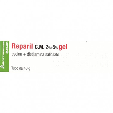 MEDA PHARMA SpA - REPARIL GEL CM*40G 2%+5%