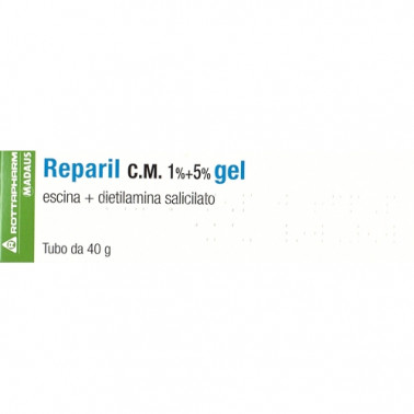 MEDA PHARMA SpA - REPARIL GEL CM*40G 1%+5%