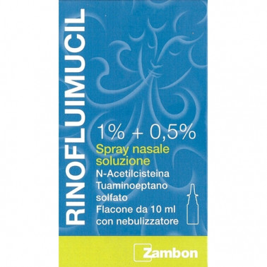 ZAMBON ITALIA Srl - RINOFLUIMUCIL*SPRAY NAS 10ML