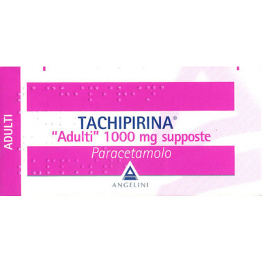 ANGELINI SpA - TACHIPIRINA*AD 10SUPP 1000MG