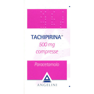 ANGELINI SpA - TACHIPIRINA*20CPR 500MG