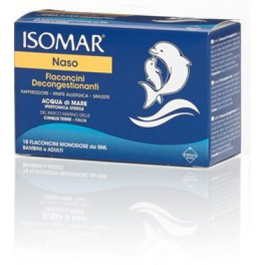 COSWELL SpA - ISOMAR Naso Flaconcini Decongestionanti 18fl da 5ml
