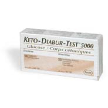 ROCHE DIAGNOSTICS SpA - KETO DIABUR Test 5000 50Str