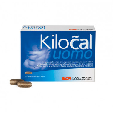 POOL PHARMA Srl - KILOCAL UOMO Integratre 30compresse