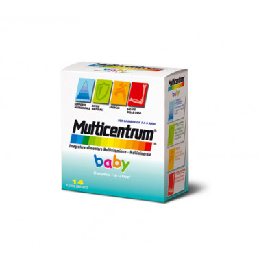 PFIZER ITALIA DIV.CONSUM.HEALT - MULTICENTRUM Baby 14bustine
