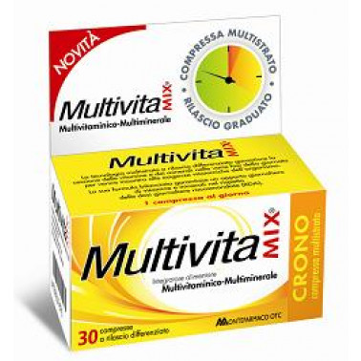 MONTEFARMACO OTC SpA - MULTIVITAMIX Crono 30cpr S/Z
