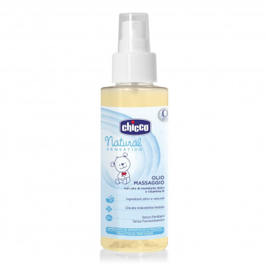 CHICCO (ARTSANA SpA) - CHICCO NATURAL SENSATION OLIO MASSAGGIO 100ML