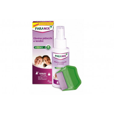 CHEFARO PHARMA ITALIA Srl - PARANIX Spray Antipediculosi 100ml+Pettine