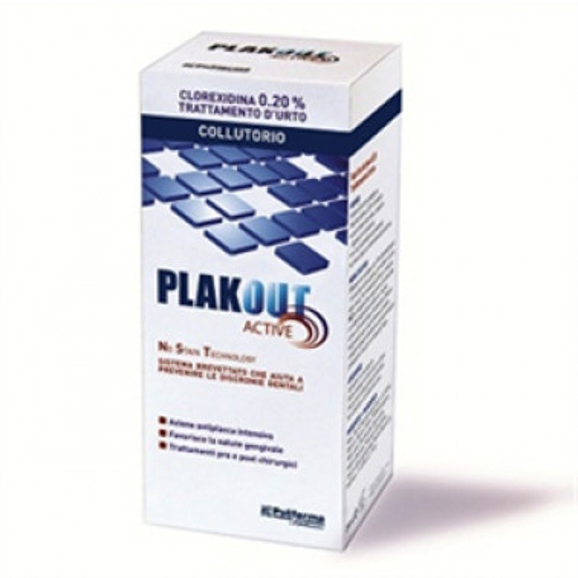 POLIFARMA - PLAKOUT Active Collutorio 0.20% 200ml