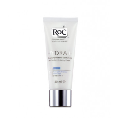 ROC (Johnson & Johnson SpA) - ROC HYDRA+ Crema Idratante Comfort 24h SPF15 40ml