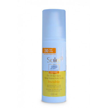BOOTS SOLEI SP - SOLEI SP Olio Spray Invisibile SPF30 125ml