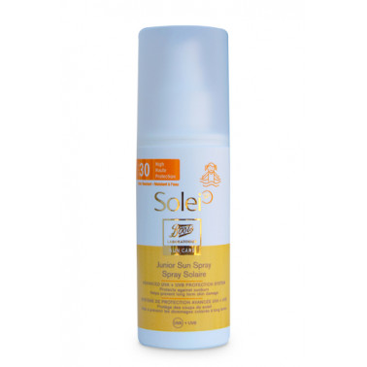 BOOTS SOLEI SP - SOLEI SP Spray Solare Bambini SPF30 150ml