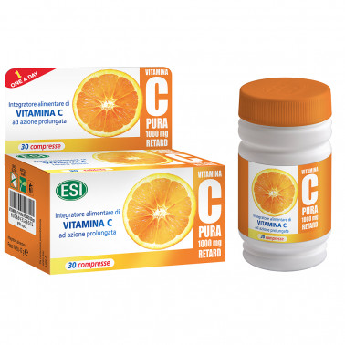 ESI SpA - VITAMINA C PURA 1000MG RETARD 30CPR