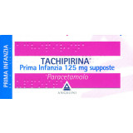 TACHIPIRINA*PR INF 10SUPP 125M