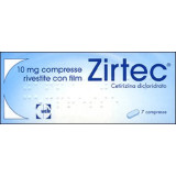 ZIRTEC*7CPR RIV 10MG